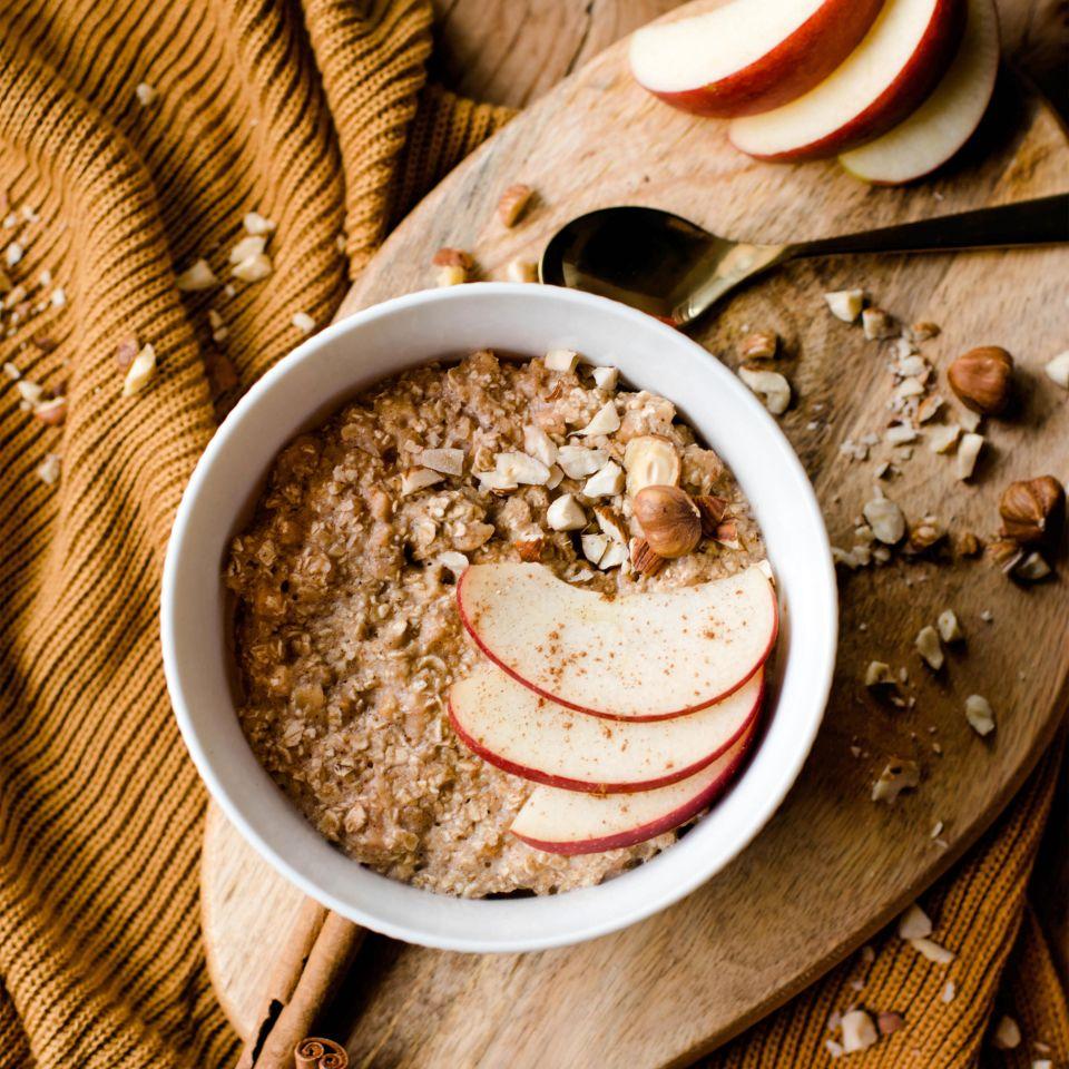 Porridge Apfel/Zimt