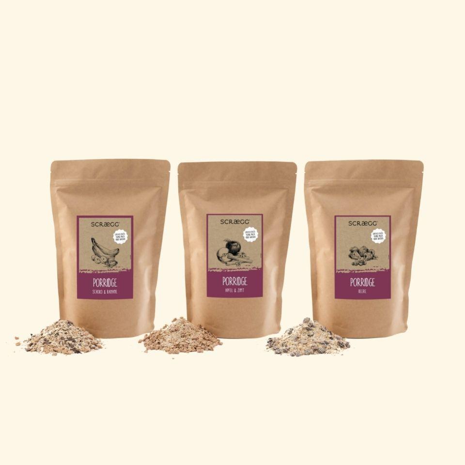Porridgevielfalt (3er Bundle)